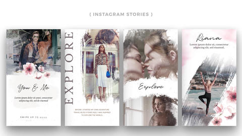 Instagram Stories: Memories After Effects Template