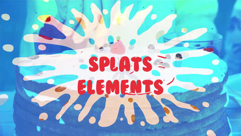 Splats Pack After Effects Template