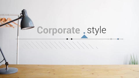 Titles Corporate Apple Motion Template