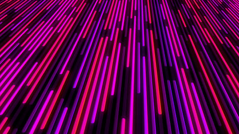 Beautiful Color Line Background. Glowing Lines Design Concept Live Action