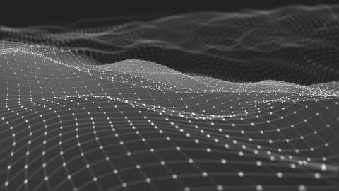Abstract Wireframe Background Fotografía