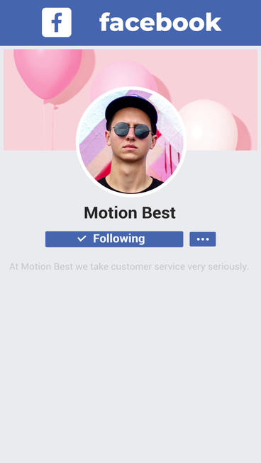 FACEBOOK PROMO After Effects Template