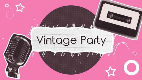 Vintage Party After Effectsテンプレート