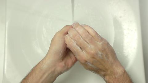 Washing Hands - Man 0