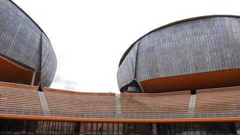 Parco della Musica Auditorium. Rome, Italy Footage