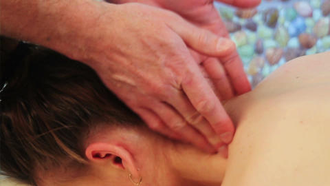 Neck Massage Footage