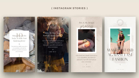 Instagram Stories: Monville After Effects Template