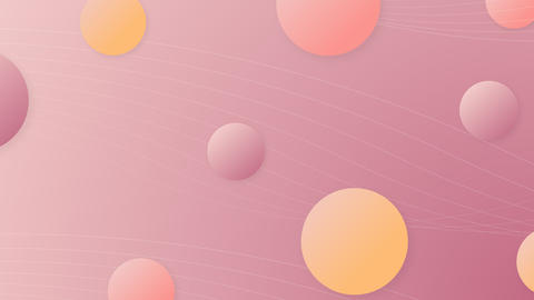 Pastel abstract background from balls ライブ動画