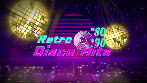 Retro Disco Opener After Effects Template