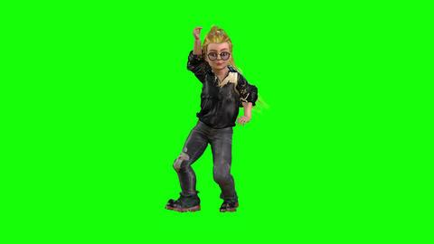 558 4k 3 d animated avatar baby girl belly dances Animation