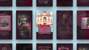 Instagram Stories: Abbeville After Effects Template