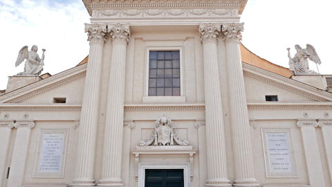 Chiesa di San Rocco all'Augusteo. Rome, Italy Footage
