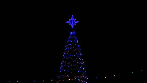 1080p Christmas Decoration / Christmas Tree / New Year Eve Footage