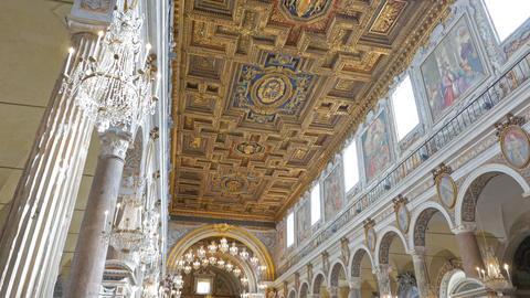 Santa Maria in Aracoeli. Rome, Italy Live Action