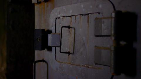 The old secret rusty safe Live Action