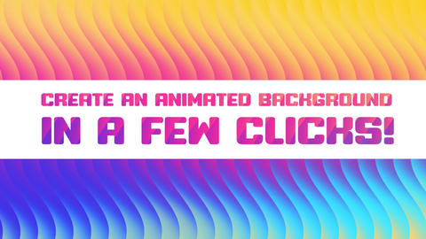 Gradients Background Generator After Effects Template