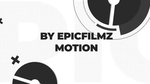 Monochrome Typography Opener After Effects Template