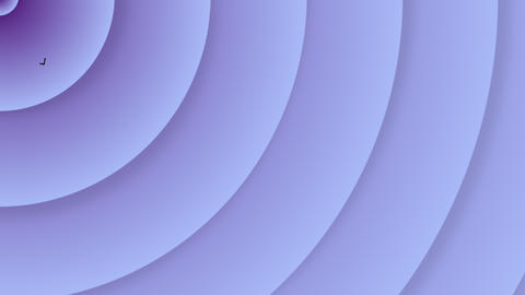 Delicate purple gradient background from pulsating semi circles GIF