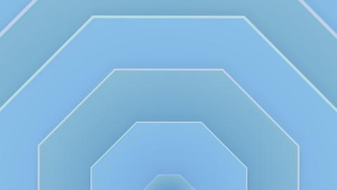 Pastel dark pulsating background in blue cyan Animation