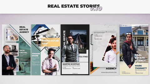 Real Estate Stories v 10 After Effects Template