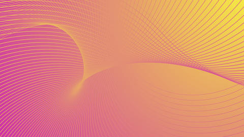 Abstract animated background with lines and gradient Animation