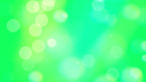 Green Bokeh Circles Abstract Background Footage