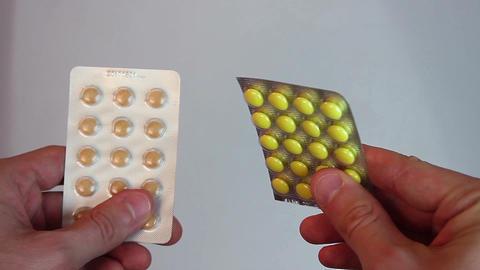 Choosing between tablet blister packings, expensive health-care Footage