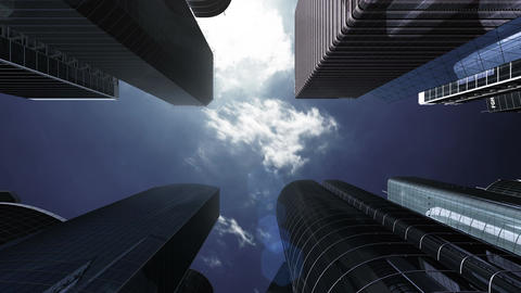 Skyscraper 2 Bg2 4k Animation