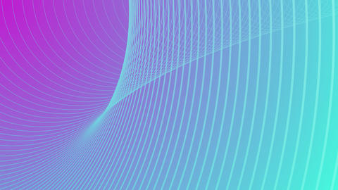 Shaped pattern in three-dimensional space on a gradient background Animation
