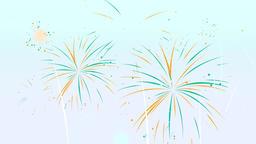 Cartoon Fireworks 1