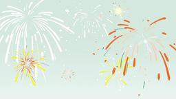 Cartoon Fireworks 2