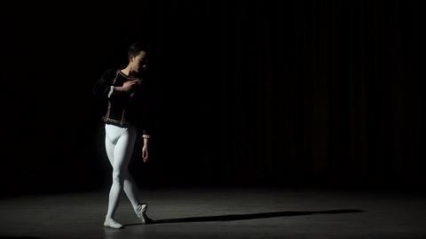 Male Ballet Dancer Jumping Footage