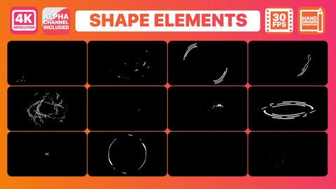 Shapes And Titles After Effects Template