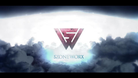 Cinematic Dark Stormy Sky Logo or Text Intro After Effects Template