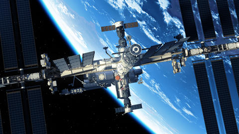 Commercial Spacecraft Is Preparing To Dock With International Space Station Live Action