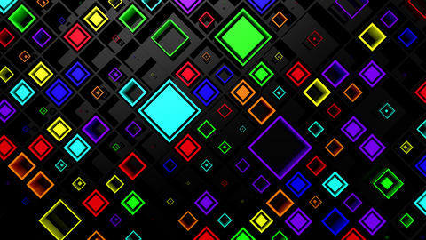 Background of Rhombuses Animation
