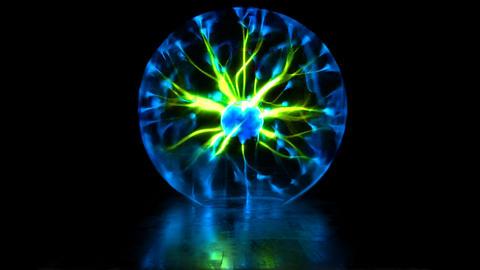 Plasma Discharge Lamp Fotografía
