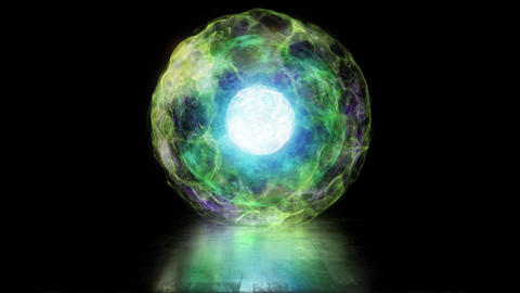 Sphere from Plasma Fotografía
