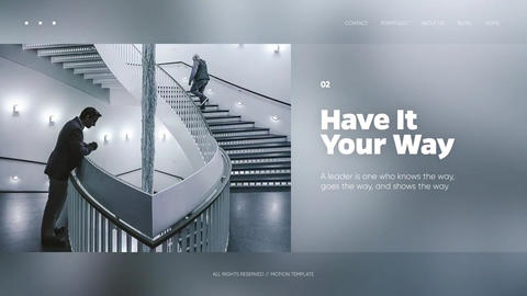 Soft Presentation - Clean Corporate After Effects Template