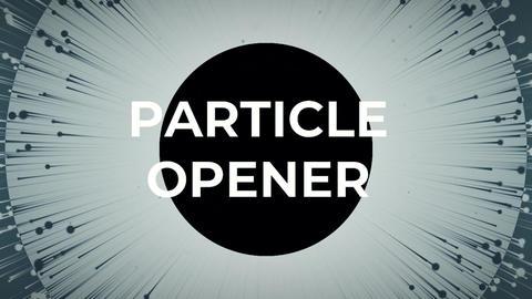 Particle Opener Premiere Pro Template