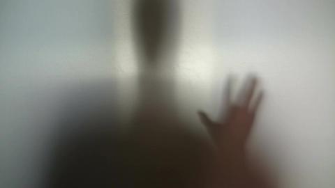 Man needs help, drug addiction, supernatural creature silhouette Live Action