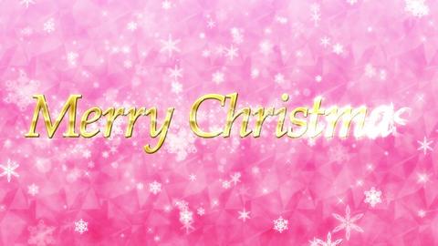 メリー・クリスマス(Merry Christmas)ループ... 動画素材, ムービー映像素材
