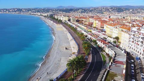 Nice, Promenade des Anglais Timelapse Footage