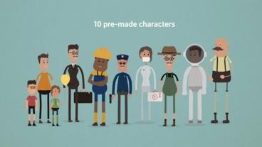 Ultimate Character Animation Toolkit After Effects Project