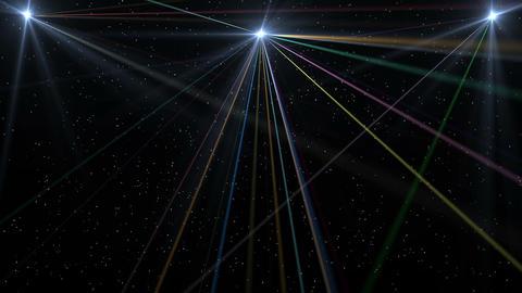 Laser Lights Show Animation