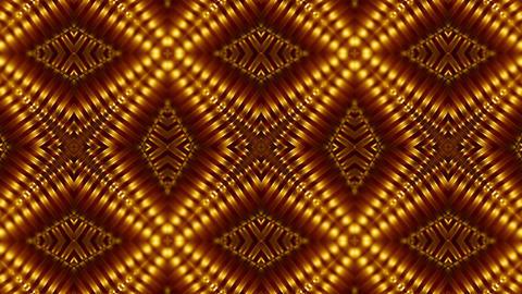 Golden Light Pattern Animation