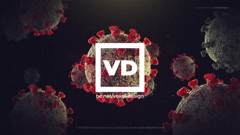 Virus Logo Opener After Effects Template