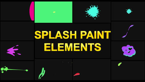 Splash Pack Apple Motion Template