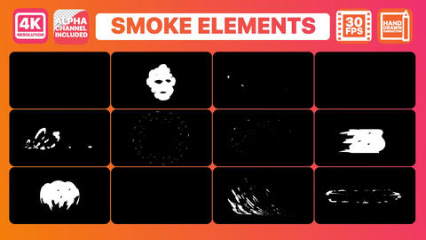 Smoke And Titles Motion Graphics Template