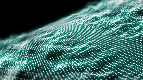 abstract background,Particle Field Motion Graphic Live Action